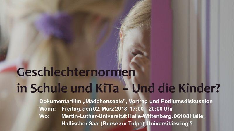 Geschlechternormen in Schule und KiTa